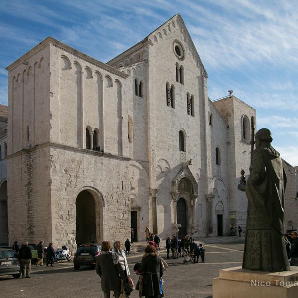 Bari Ncc - Esterno della Basilica di San Nicola