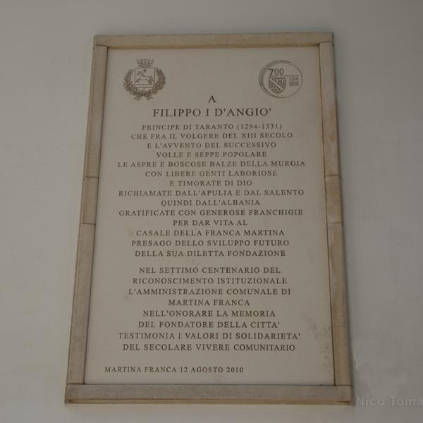Martina Franca - Filippo I d'Angiò