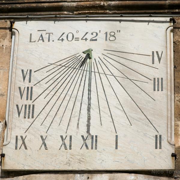 NCC a Martina Franca orologio antichissimo