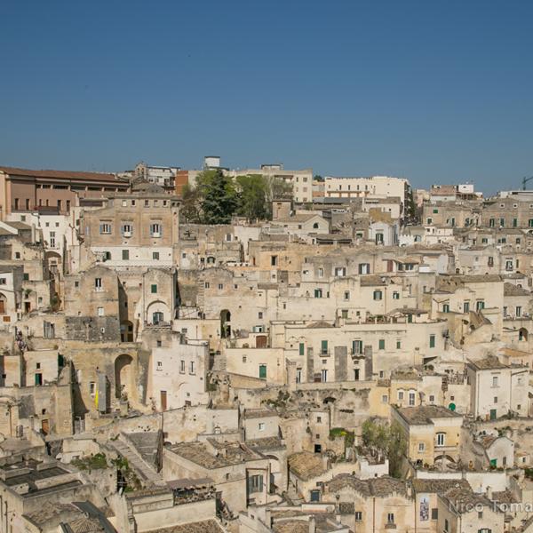 Taxi NCC Matera-vista panoramica