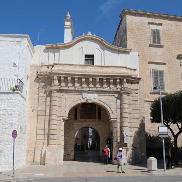 Porta di ingresso di Polignano a Mare