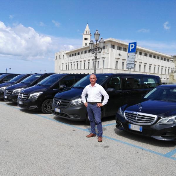 Bari Ncc - Noleggio con conducente - Flotta Auto